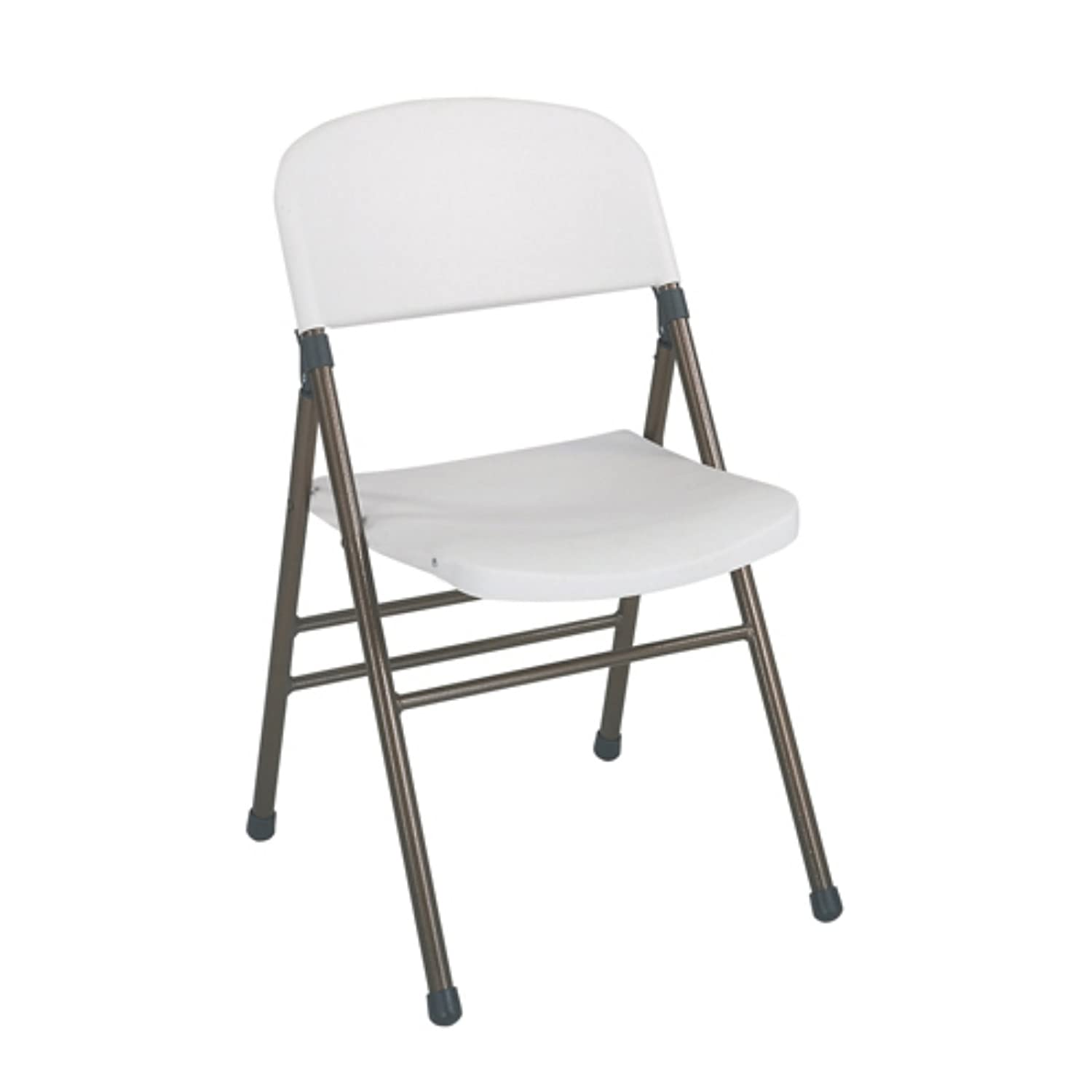 White Plastic Folding Chairs.Cosco Industries Inc Commercial Grade Molded Folding Chair In White Set Of 4 Set Of 4