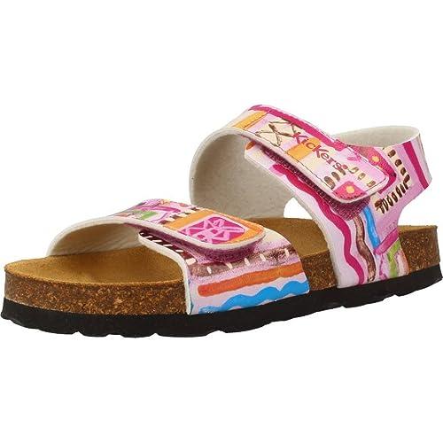 b508df32 Sandalias y Chanclas para niña, Color Rosa, Marca KICKERS, Modelo Sandalias  Y Chanclas para Niña KICKERS SUMMERKRO Rosa: Amazon.es: Zapatos y  complementos