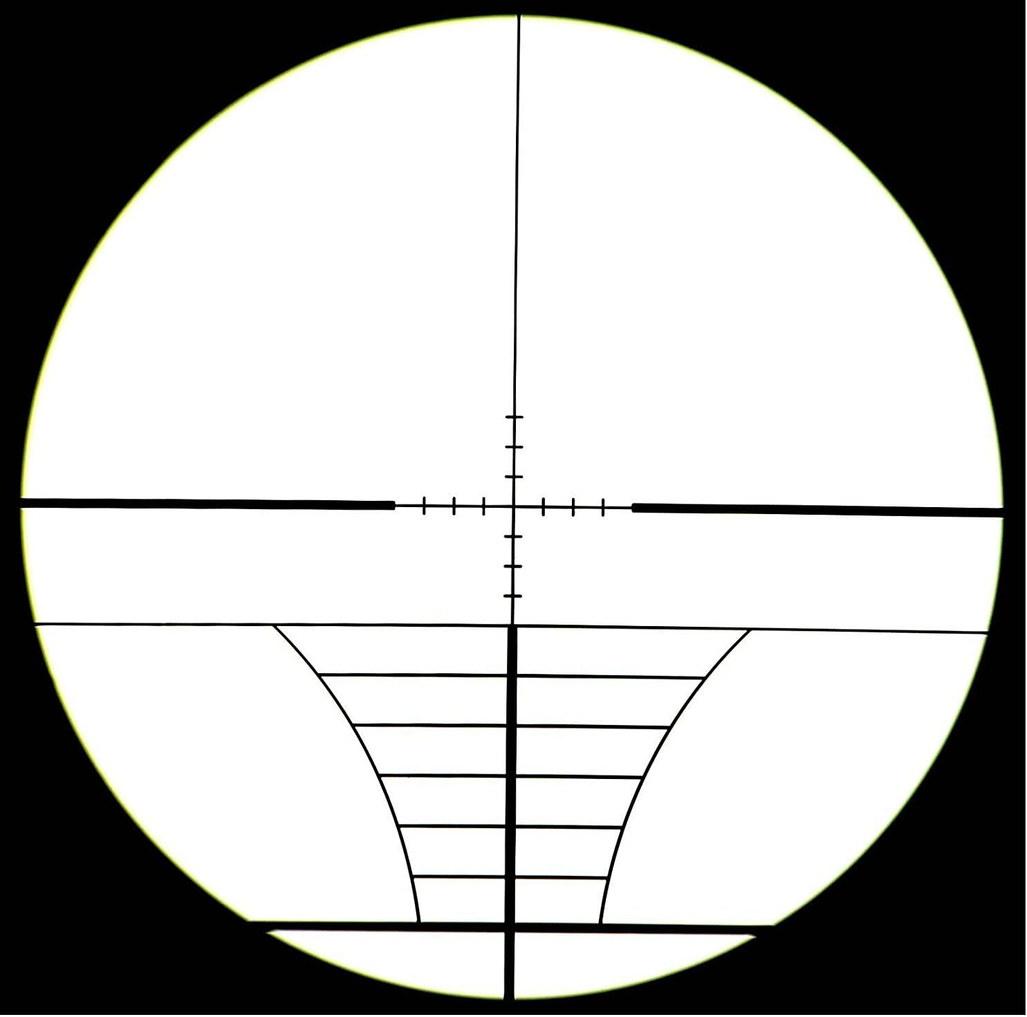 360 TACTICAL 4x32 mm Mil-Dot Modern Range Finding Red Green Illuminated Scope Shooting Scope