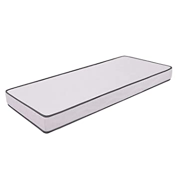 Ailime Waterfoam H12 - Colchón para cama, poliuretano, 80 x 190 x 12 cm
