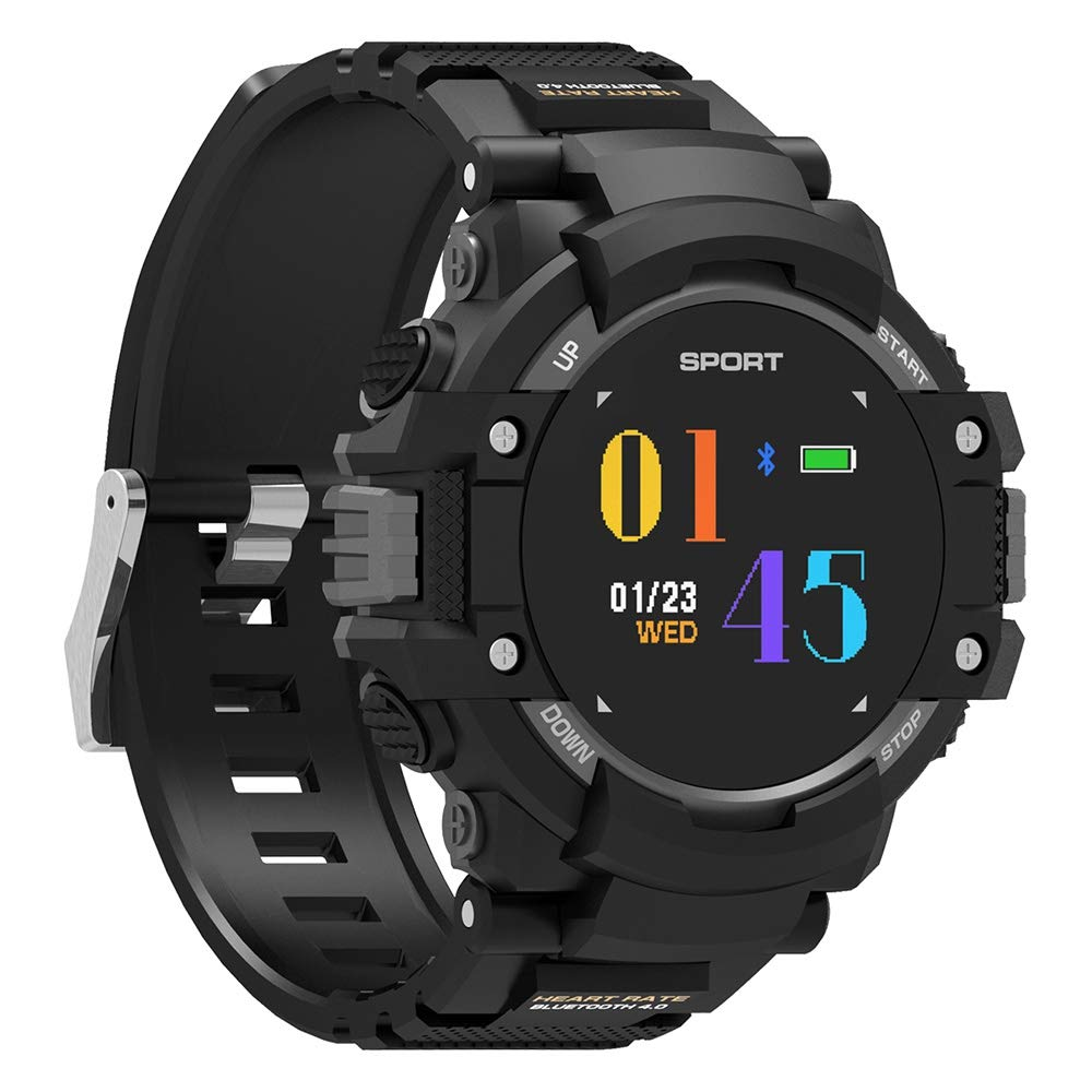 Amazon.com: luckyruby NO.1 F7 Smart Watch Real-time Heart ...