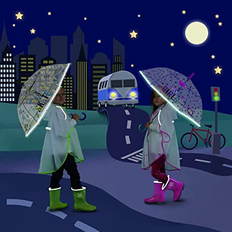 Depesche Trixibelles Regenschirm gepunktet Kindergarten Regen Einschulung shabby
