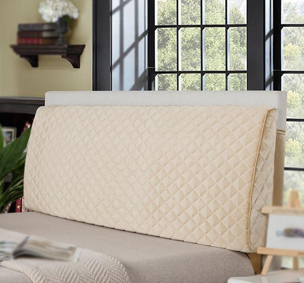 Bed backrest / soft bag double pillow / bed bed cushion / sofa fashion backrest / washable cushion ( Color : D , Size : 1505011cm )