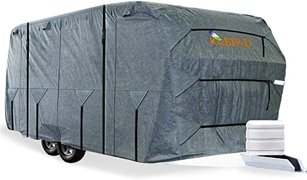 Caravan top cover 16-27ft UV stable motorhome top cover protection cover M-XXL