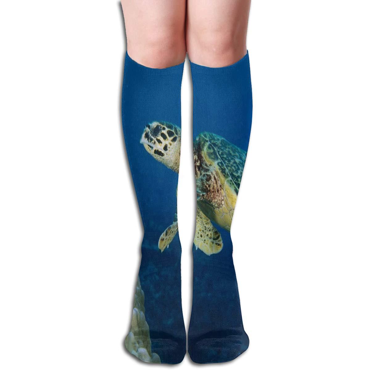 Girls Socks Mid-Calf Peacock Bird Winter Inspiring For Gift