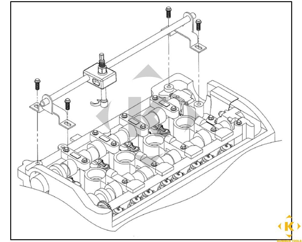 Bmw Valve Stem Seal Tool Set N62 And N62tu Engine 2002 Mini Cooper S Parts Diagram Everything Else