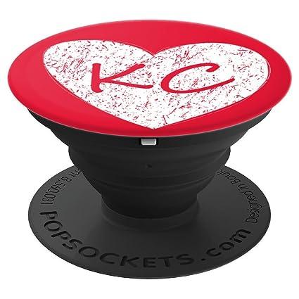 Amazon.com: Rojo Kansas City KC de regalo corazón orgullo ...