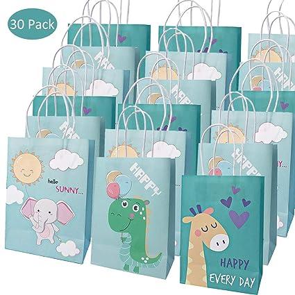 Amycute 30 Piezas bolsas de papel para regalos, Bolsas de ...