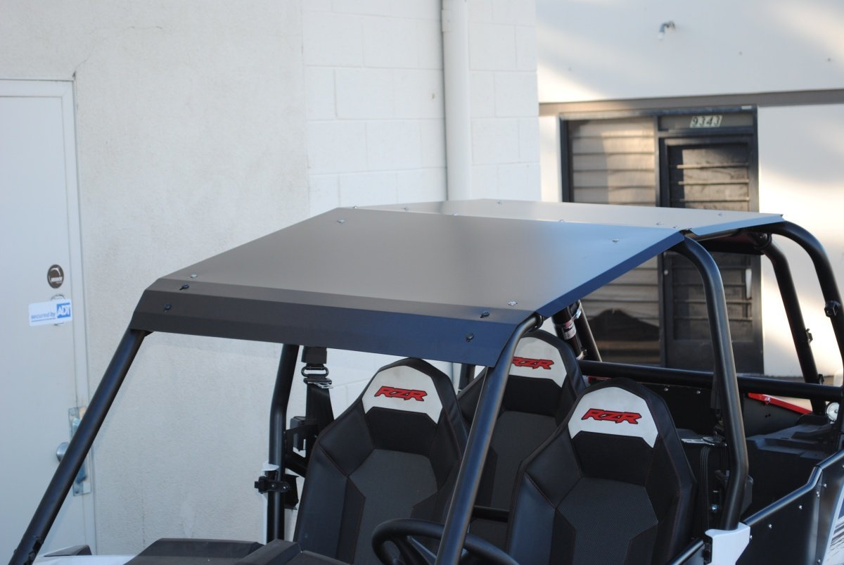 2014-2019 Polaris RZR XP 1000 and Turbo 4 Door Black Aluminum Roof