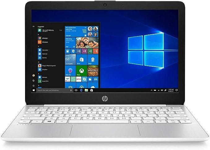 "HP Stream Laptop PC 11.6"" Intel N4000 Quad Core 4GB DDR4 SDRAM 32GB eMMC (Renewed) | Amazon"