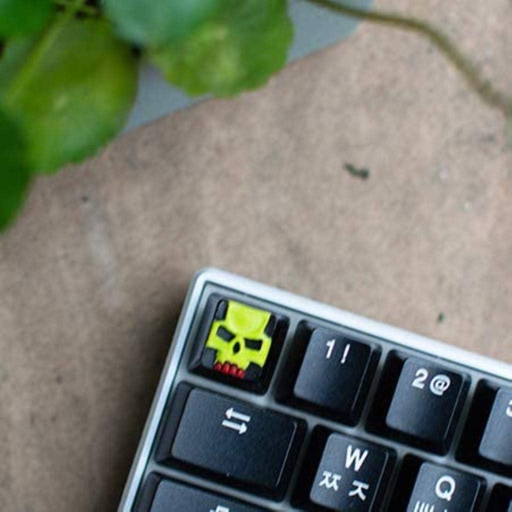 XUHRA Personalizados, Keycaps Interesantes Resina Esc Nombres ...