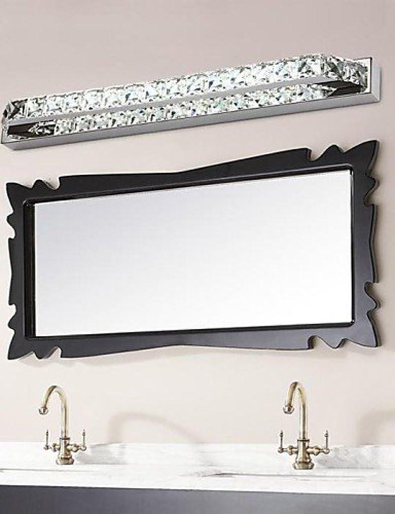 14w 56 centimetri di cristallo principale lineare bagno lampade specchio luce CA 85-265V