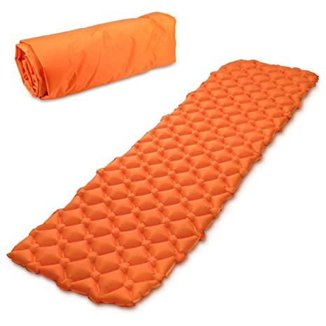 Navaris colchón Inflable con Estructura alveolada - Esterilla Hinchable para Camping en DIV. Colores -