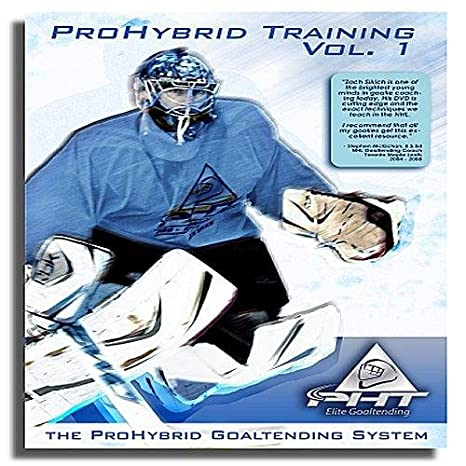 Pro Hybrid Goalie Training Goaltender Training Dvd Volume 1