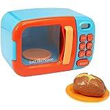 Just Like Home Microwave - Blue w/ Play Food