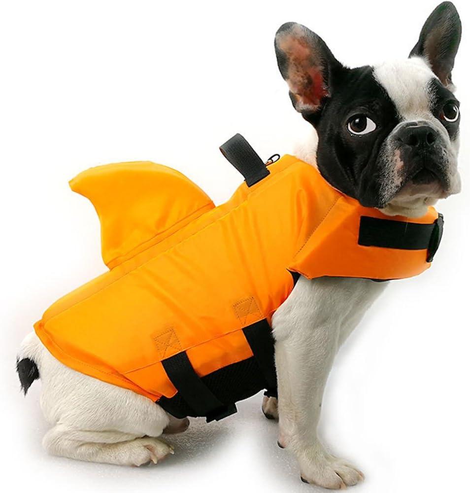 XL, Blu Salvagente per Cani,Gilet di Galleggiamento per Cani Nuoto Pet Salvagente Salvagente Costume da Bagno HanDingSM Giubotto di Salvataggio per Cane,Giubbotti di Salvataggio per Cani