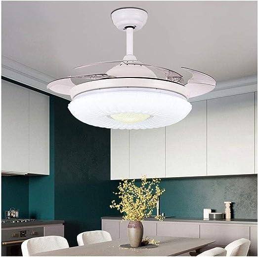 XH 42 Pulgadas de Techo Invisible luz del Ventilador, Ventilador ...