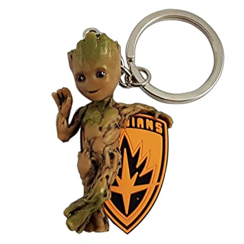 Amazon.com: Semic Marvel Comics PVC Llavero bebé Groot ...