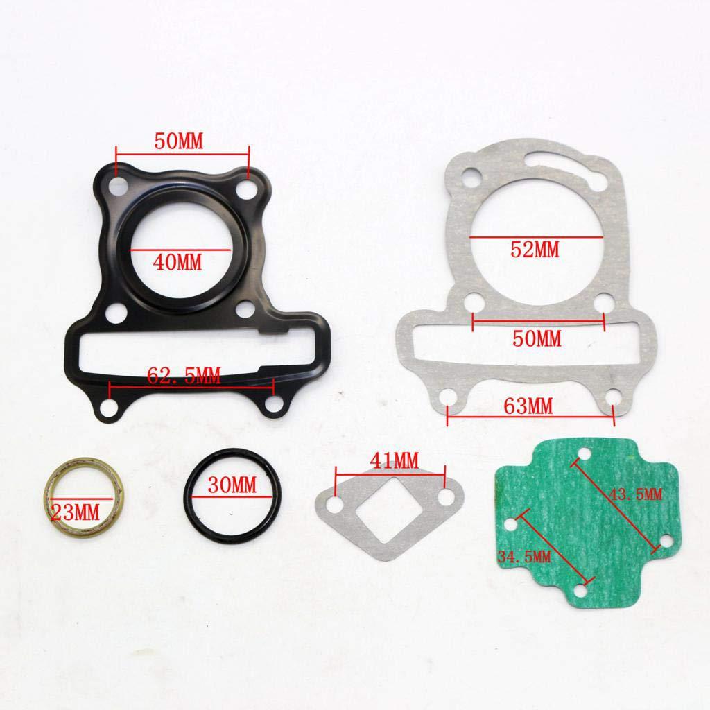 Happy DIY B Baosity Jeu De Joints De Culasse pour VTT GY6 50 50cc Karting \u0026 Scooter De V/élomoteur