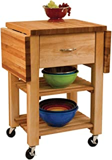 product image for Catskill Craftsmen Kitchen Cart in Natural Birch