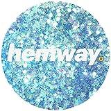 Hemway Mermaid Blue Mix Glitter Chunky Multi