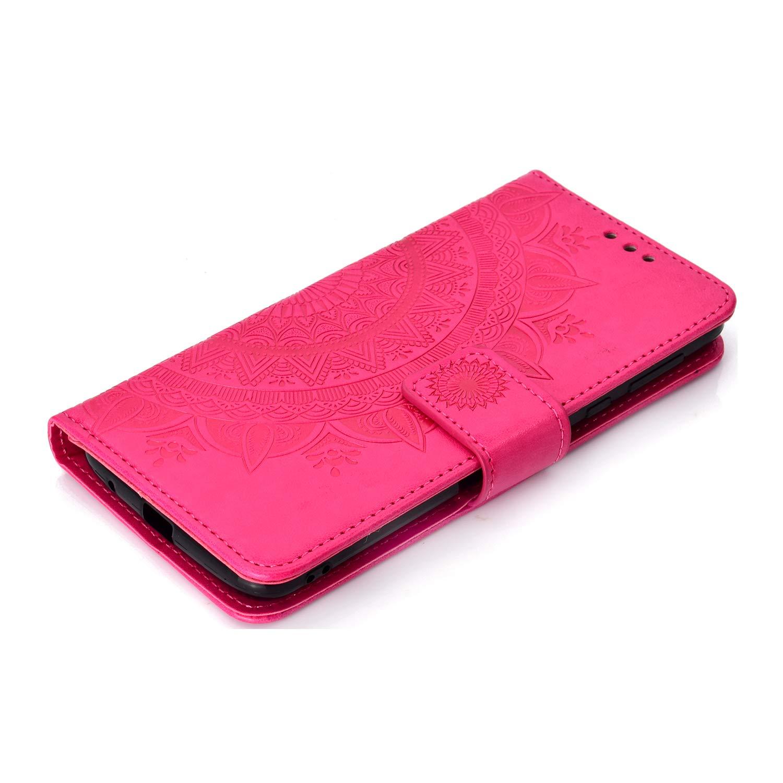 Moto G6Play Lomogo LOHHA11404 Grau Schutzh/ülle Brieftasche mit Kartenfach Klappbar Magnetverschluss Sto/ßfest Kratzfest Handyh/ülle Case f/ür Motorola Moto G6 Play // E5 H/ülle Leder