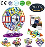Best Gifts For Two Year Old Boys - Jasonwell 94 PCS Creative Magnetic Building Blocks Review