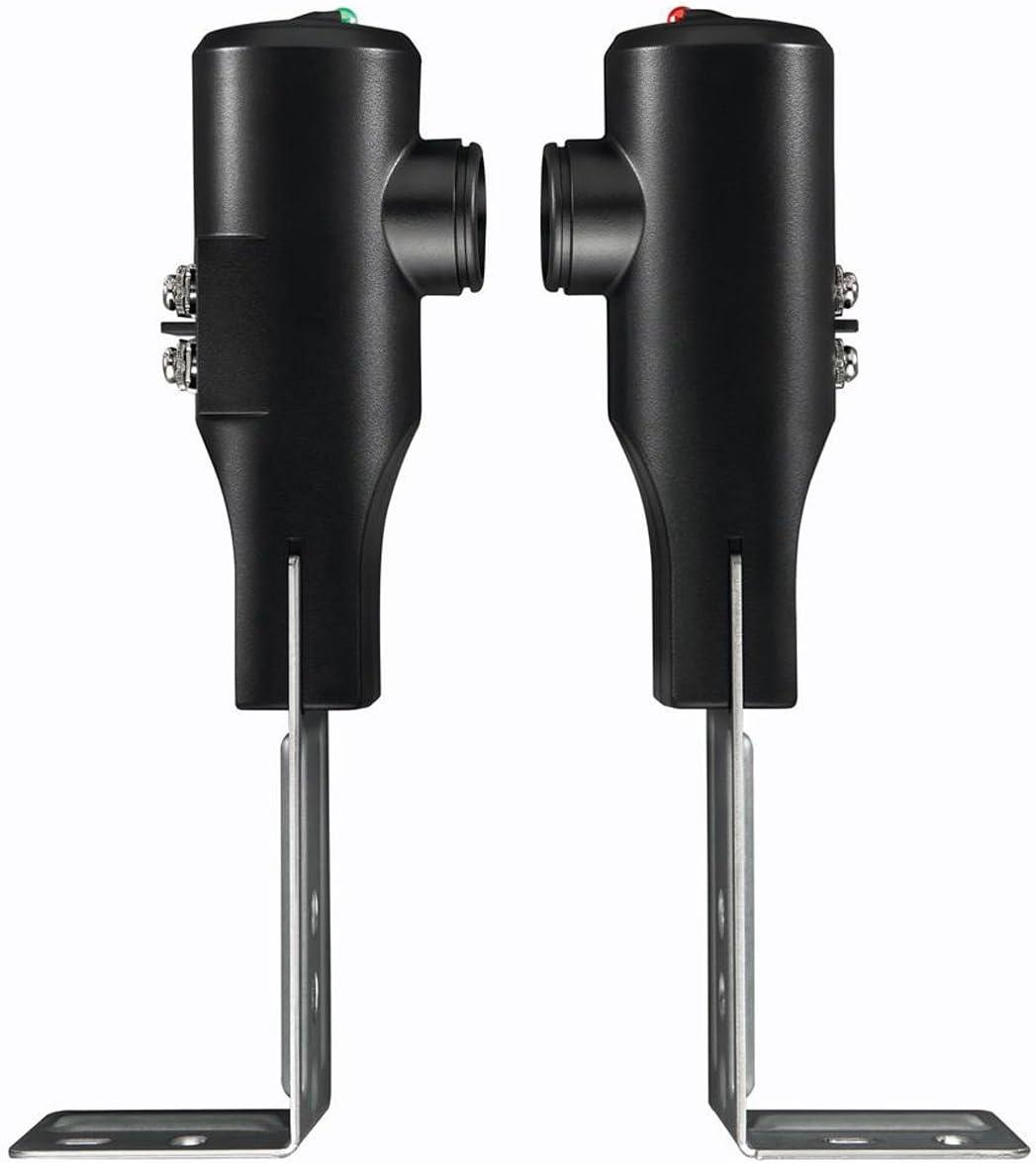 2 Pack Black GSTB-R Fivе Расk Black one size Genie GSTB-R STB-BL Replacement Safety Beams