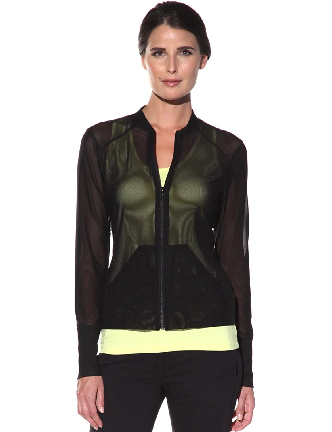 Anatomies Bailey Mesh Jacket At Amazon Womens Clothing Store