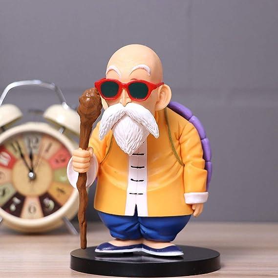 Cyc-cong Figuras Super Saiyan Muten-Roshi - Escultura precisa y ...