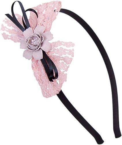 Amazon.com: Astral pelo lazos de cinta flor del pelo para ...