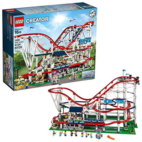 LEGO Creator Expert Roller Coaster 10261 Building Kit , New 2019 (4124 Piece) by LEGO (Image #1)