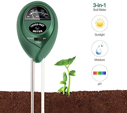 Baiyi - Medidor de pH para utensilios de cocina, versión mejorada ...