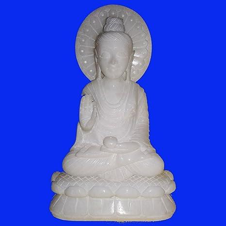 Amazon com: craftslook Italian Alabaster Buddha god Statue 2