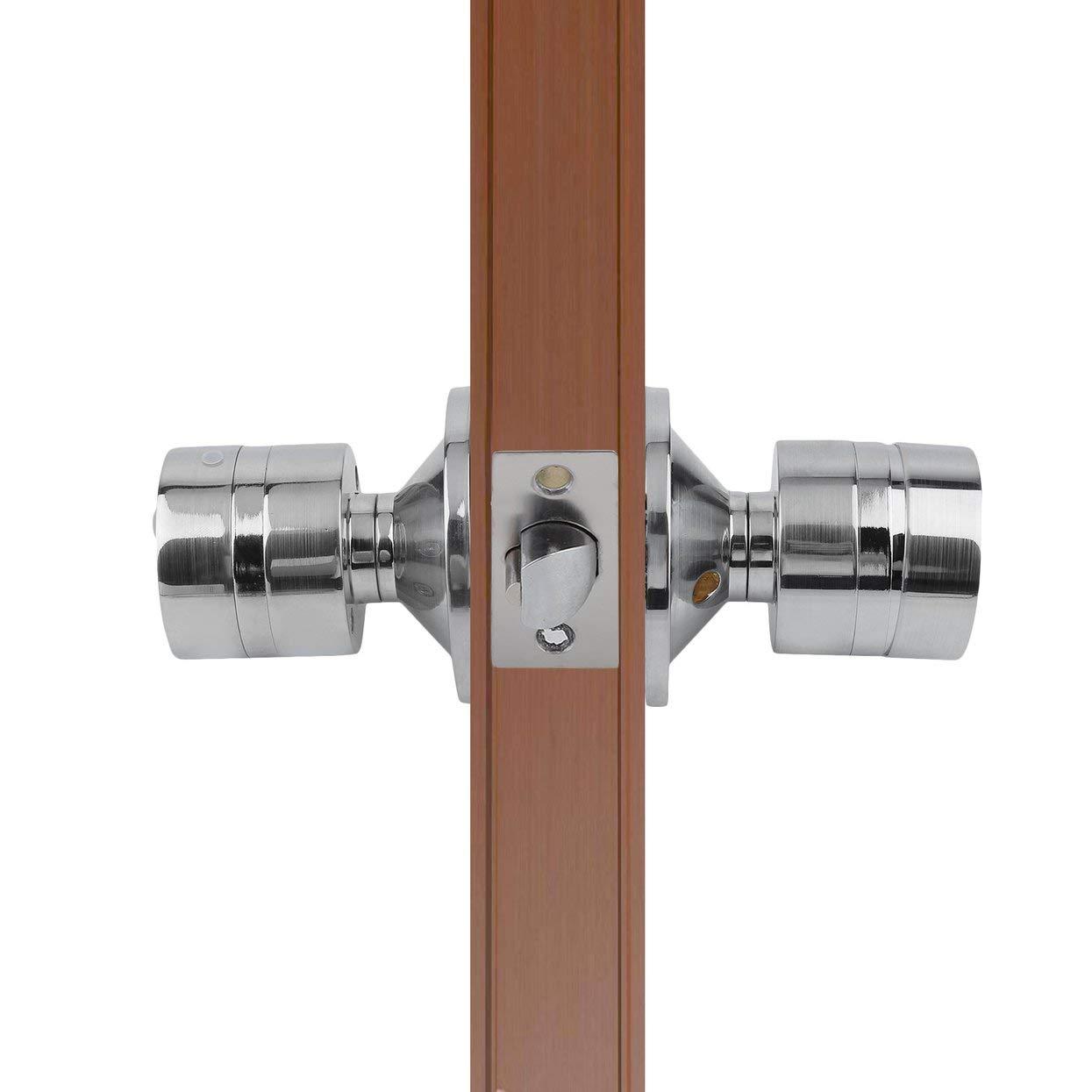 Keyless Electronic Code Password Number Lock Digital Keyless Keypad Security Safety Entry Intelligent Doorlock Silver by ToGames (Image #3)
