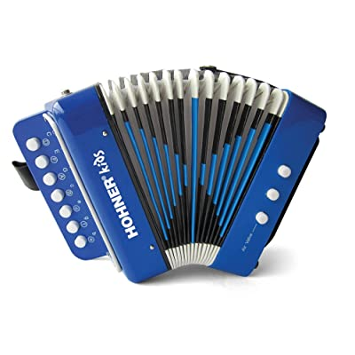 Hohner Toy Accordion - Blue: Musical Instruments [5Bkhe1904747]