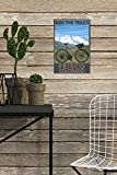 Lantern Press Frisco, Colorado - Mountain Bike and