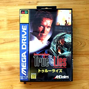 ROMGame True Lies 16 Bit Sega Md Game Card With Retail Box For Sega Mega Drive For Genesis US Shell