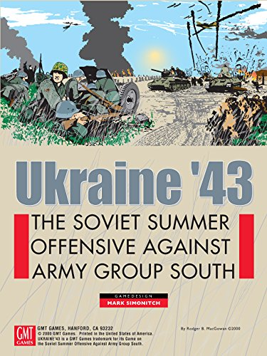 GMT: Ukraine '43, the Soviet Summer Offensive Against Army Group South, Boadgame, 1st Edition ()