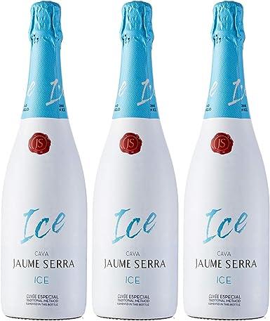 Jaume Serra Ice Cava Blanco - Pack de 3 Botellas x 750 ml: Amazon.es: Alimentación y bebidas