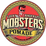 Mobsters Hair Pomade Strong Hold Water Based Deluxe Matt Finish Hair Wax Pro Salon Use Large 150g Tin Lucky Knuckles Edition