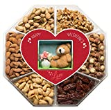 LARGE-Gourmet-Nuts-Gift-Basket-with-Miniature-Teddy-Flowers-Top-Gift-Idea-for-Men-Women-Family-Mini-Wishes