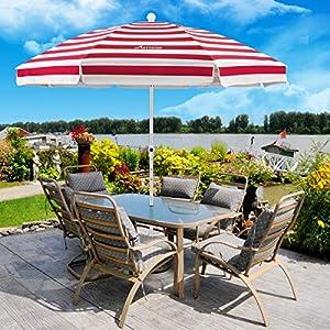 MOVTOTOP Ombrellone da Spiaggia, 200 cm, con Ancoraggio a Sabbia, Portatile, Protezione Solare UV 50+, Ideale per la… 22 spesavip