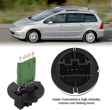 3E Resistencia adecuada del ventilador del radiador para 206 307 206 307 SW 307 CC Break Resistencia de control del ventilador 6450.JP