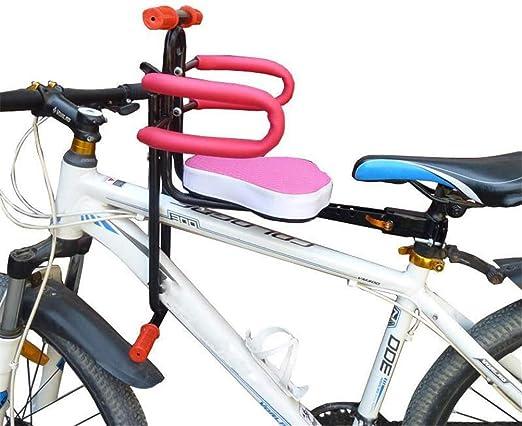 SPOLY Asiento Delantero para Bicicleta, PortáTil Seguridad Kids ...