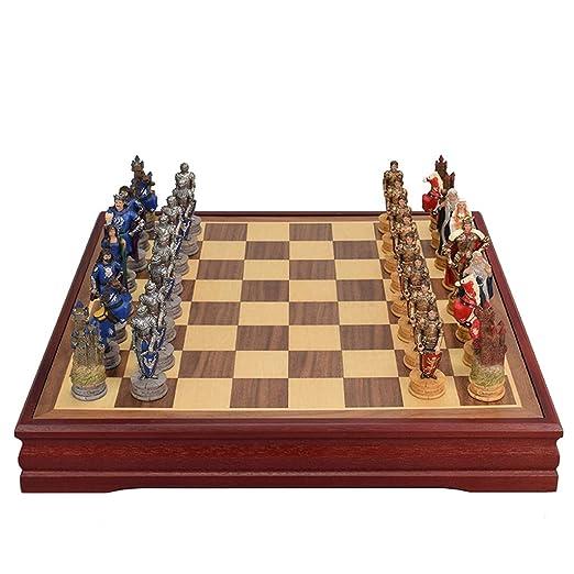 Ajedrez Retro Juego de ajedrez de Madera Internacional jugadas ...