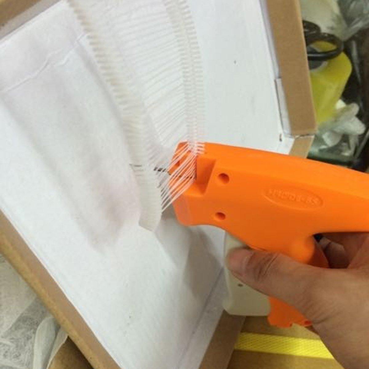 Latinaric 1000pcs Heftf/äden F/äden f/ür Fein Pistole