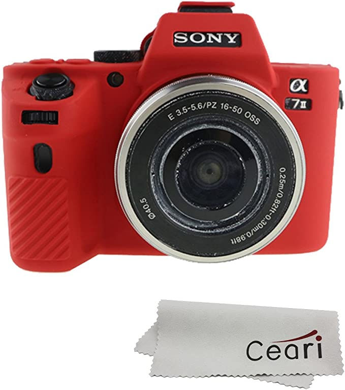 For Sony A7 A7R A7S Camera Silicone Protector Skin Case Cover Skin Dustproof