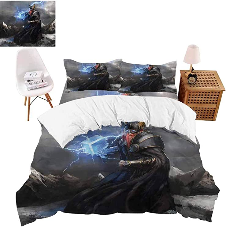 Flat or Fitted Sheet *** *** Iron Man Flying out Queen Bed Quilt Cover Set