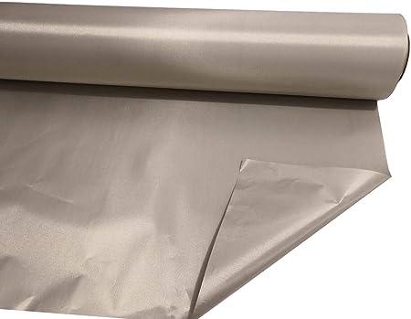 "EMF Blocking RF  RFID Shielding Conductive Copper Fabric  1/' Length X 43/"" Width"